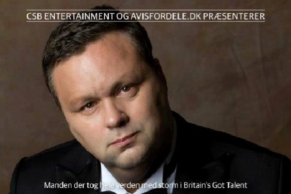 Paul Potts Christmas Dreams Tour